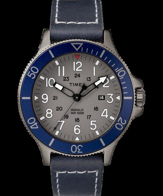 Allied Coastline 43mm Leather Watch