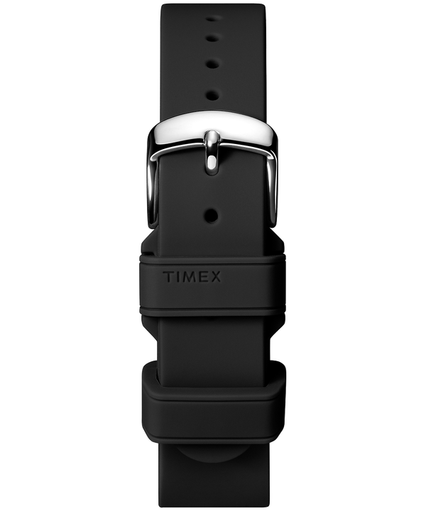 Cinturino in silicone da 18 mm Black large