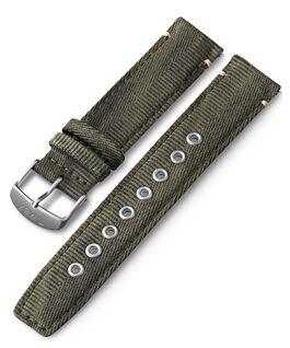 Cinturino in tessuto quick-release da 20 mm Verde large