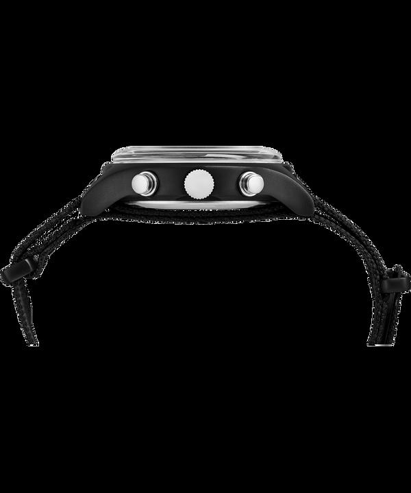 Orologio con cinturino in tessuto MK1 Aluminum Chronograph 40 mm Black large