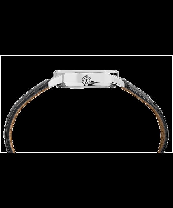 Easy Reader 30 mm con cinturino in pelle  Chrome/Black/White large