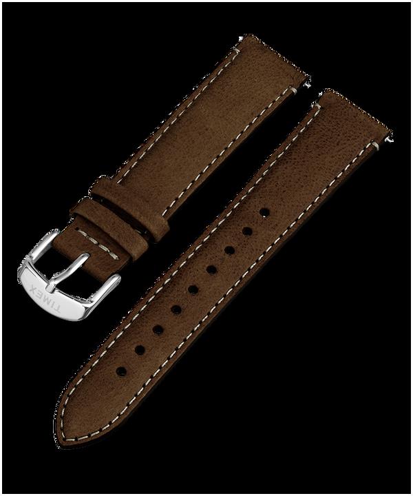 Cinturino in pelle a sgancio rapido da 20 mm Brown large