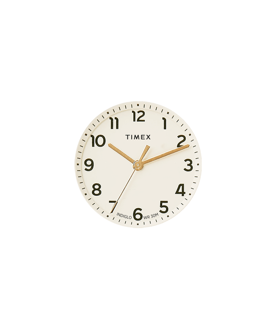 Quadrante crema/Lancetta dei secondi dorata  large