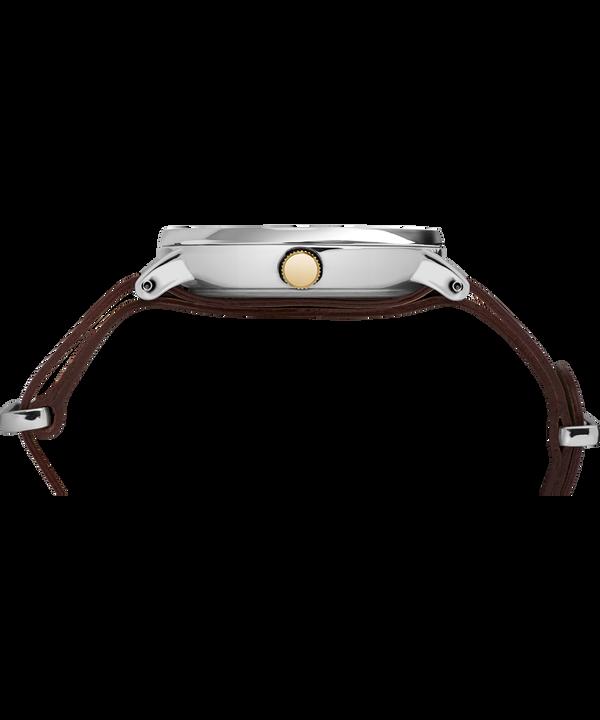 Southview 41 mm con cinturino in pelle  Chrome/Brown/Cream/Gold-Tone large