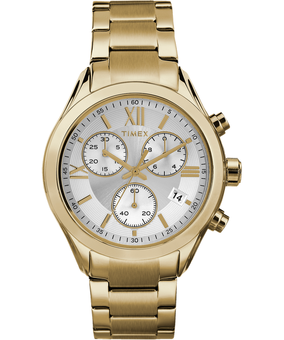 Miami Chronograph 38mm Stainless Steel Watch Gold-Tone/Silver-Tone large