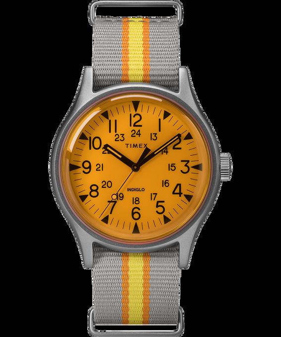 Orologio MK1 California con cinturino il tessuto da 40 mm Silver/Grigio/Arancione large