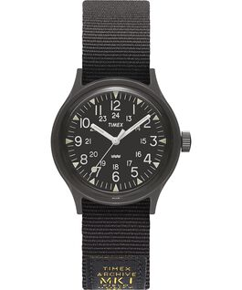 MK1 Military 36 mm con cinturino in gros-grain  Nero large
