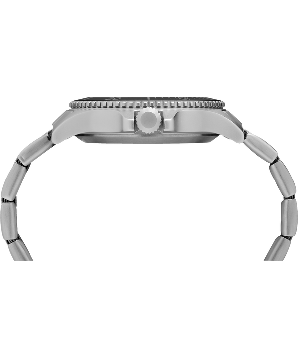 Expedition Ranger 43 mm con bracciale in acciaio IP-Steel/Silver-Tone/Black large