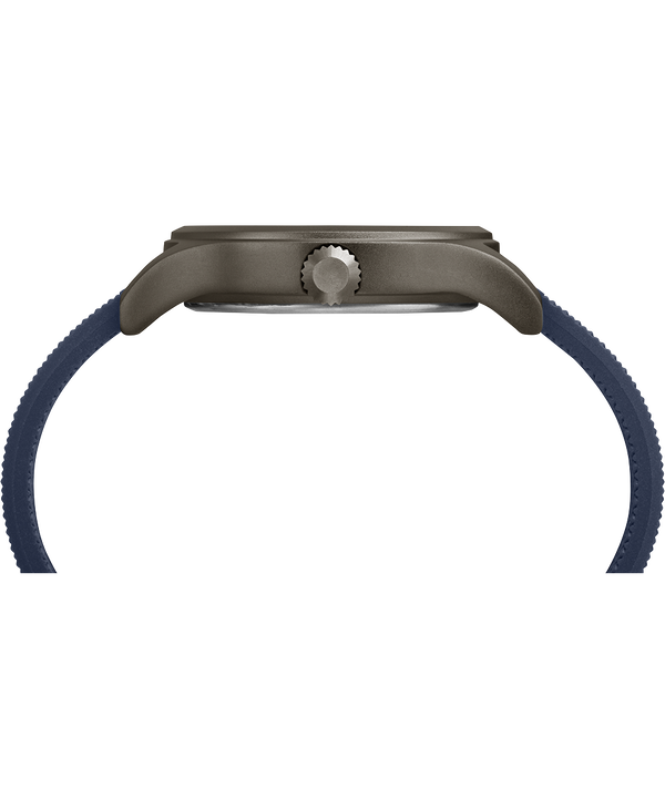 Allied 40 mm con cinturino in silicone  Gray/Blue large