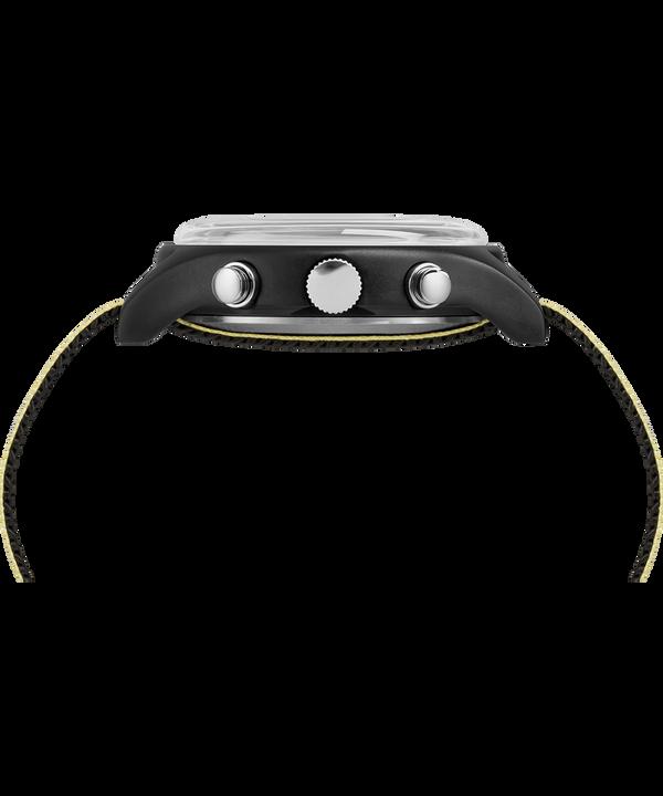 MK1 Aluminum Chronograph 40 mm con cinturino in tessuto riflettente Black large