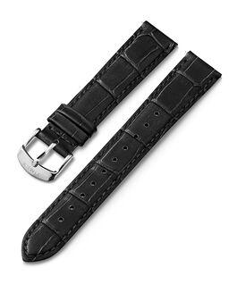 Cinturino in pelle quick-release da 18mm Nero large