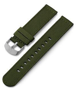Cinturino in tessuto da 20 mm Verde large
