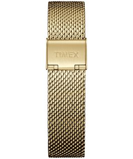 18mm Stainless Steel Mesh Strap Gold-Tone large