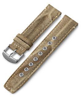 Cinturino in tessuto quick-release da 20 mm Cuoio large
