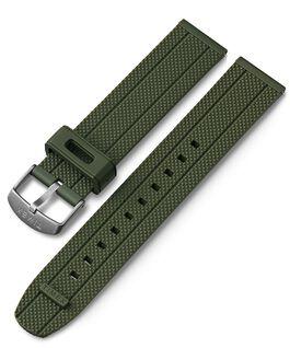 Cinturino in silicone quick-release da 20 mm Verde large