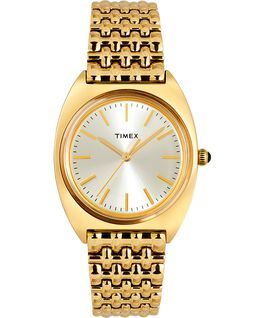 Milano 33mm Stainless Steel Bracelet Watch Gold-Tone large