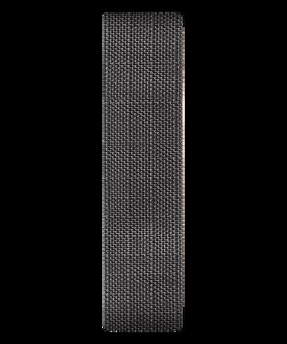 Cinturino a scorrimento in canvas grigio  large