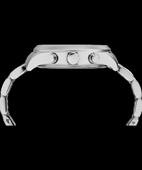 Waterbury World Time 43 mm in acciaio inossidabile  Stainless-Steel/Cream large