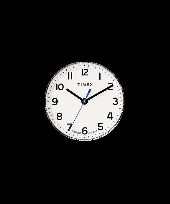 Quadrante bianco/Lancetta dei secondi blu  large