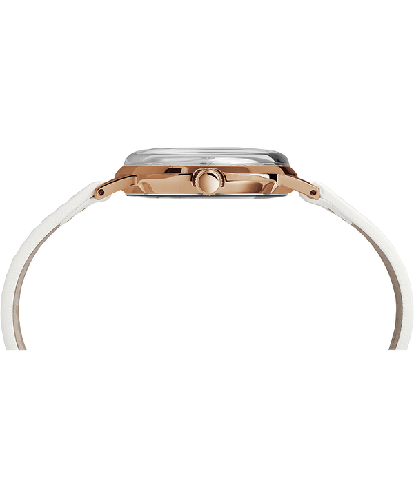 Marlin 34 mm con carica manuale Rose-Gold-Tone/White large