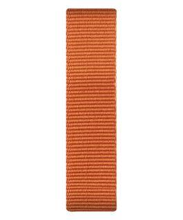 Cinturino a scorrimento in nylon arancione  large