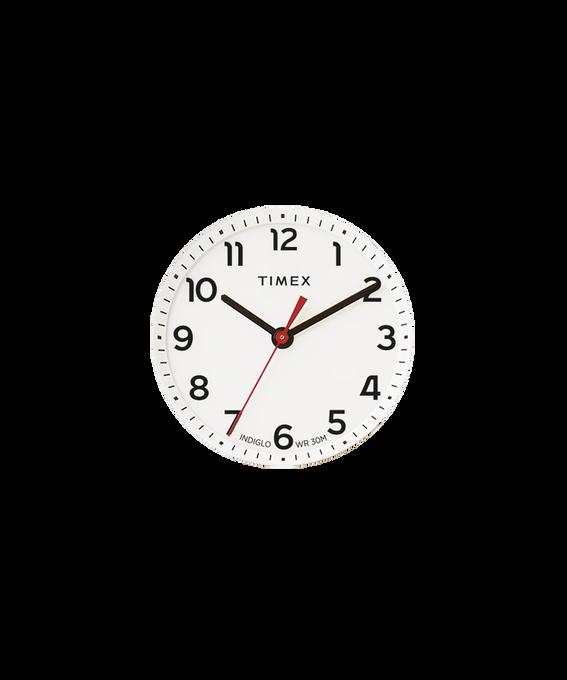 Quadrante bianco/Lancetta dei secondi rossa  large