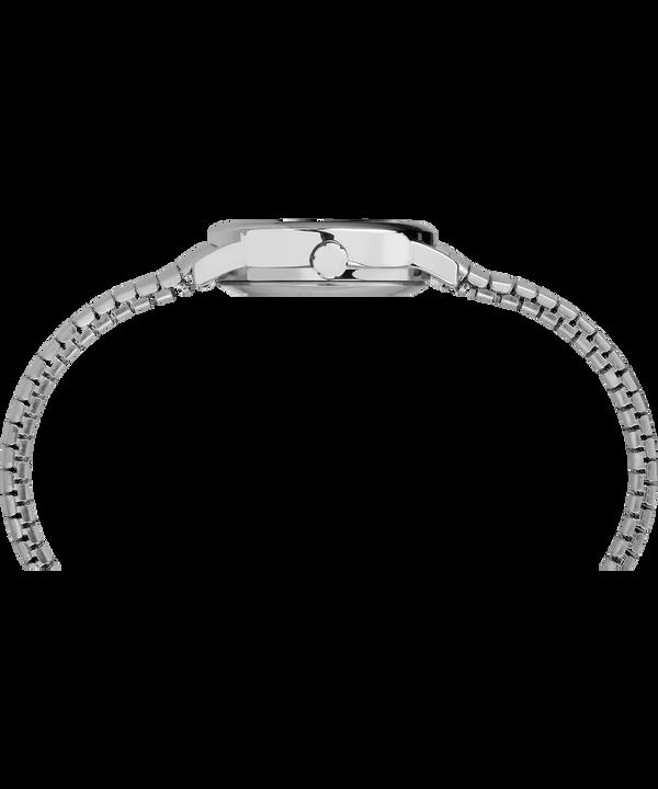 Easy Reader 25 mm braccialato Silver-Tone/Stainless-Steel/White large