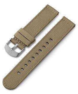 Cinturino in tessuto da 20 mm Cuoio large
