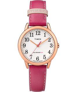 Orologio-da-donna-con-cinturino-in-pelle-Easy-Reader-Color-Pop-30-mm-in-esclusiva Tonalità oro rosa/Rosa/Bianco large