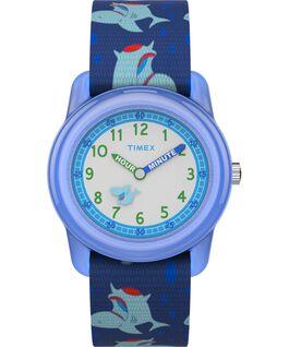 Kids Analog 32mm Nylon Strap Watch 1 Blue/Green/White large