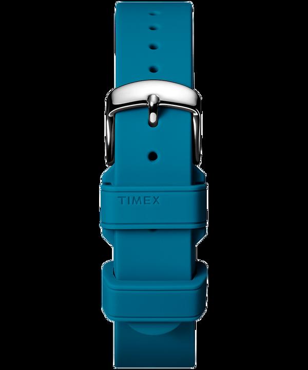 Cinturino in silicone da 18mm Blue large