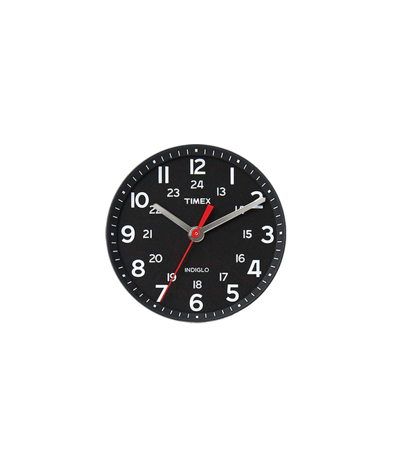 Quadrante nero/Lancetta dei secondi rossa  large